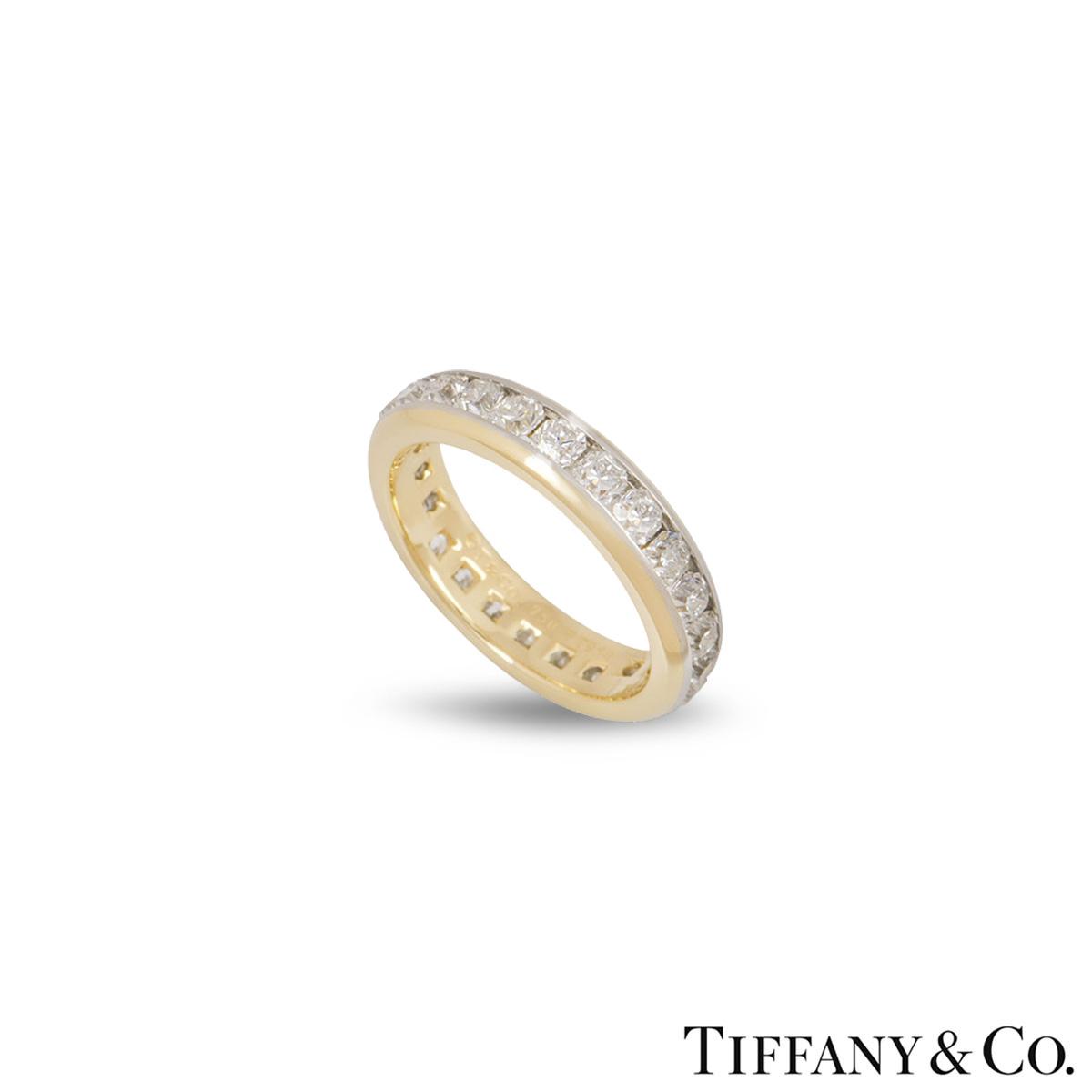 Tiffany & Co. Lucida Full Diamond Eternity Ring